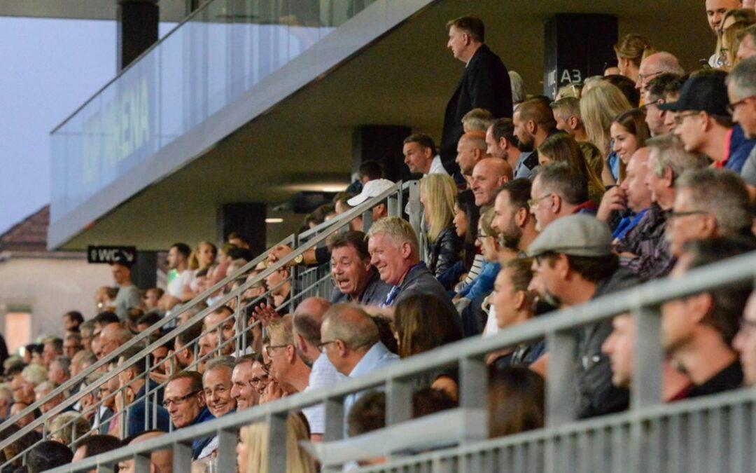 Wieder mit Fans im Stadion